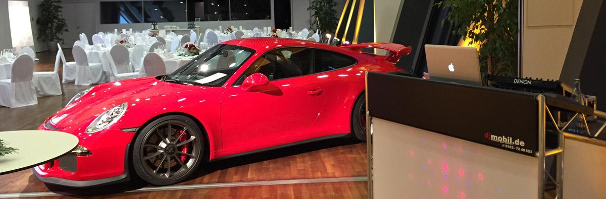 DJ Mobil Location - Porsche