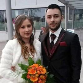 DJ Mobil Testimonial - Brautpaar Janine & Yalcin