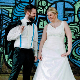 DJ Mobil Testimonial - Brautpaar Verena & Heiko
